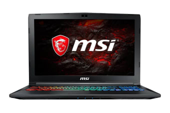 "MSI 15.6"" GP62M Leopard FHD Core i7-7700HQ GTX1050 4GB 1TB HDD 128GB SSD 16GB RAM Gaming Notebook (7RDX-1641AU)"