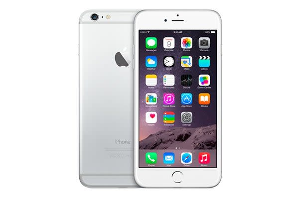 Apple iPhone 6 Plus (16GB, Silver)