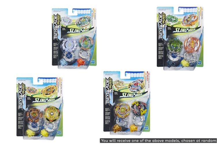 Beyblade Burst Turbo Slingshock Dual Pack (Assorted)