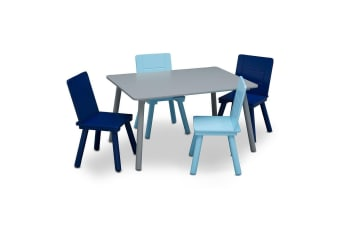 Delta Children Kids Table and Chairs Set Blue