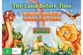 The Land Before Time Collection Box Set DVD Region 4