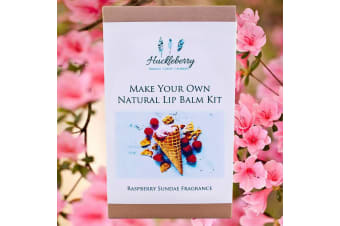 Make Your Own Raspberry Sundae Natural Lip Balms | Huckleberry