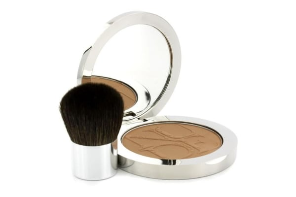 Christian Dior Diorskin Nude Tan Nude Glow Sun Powder (With Kabuki Brush) - # 003 Cinnamon (10g/0.35oz)