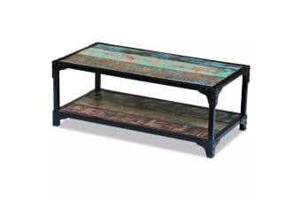 vidaXL Coffee Table Solid Reclaimed Wood