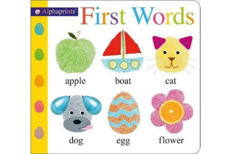 First Words - Alphaprints