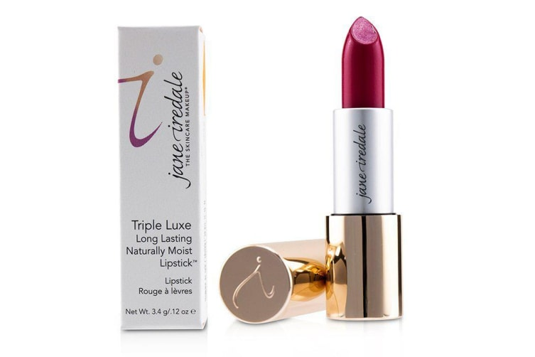Jane Iredale Triple Luxe Long Lasting Naturally Moist Lipstick - # Natalie (Hot Pink) 3.4g/0.12oz