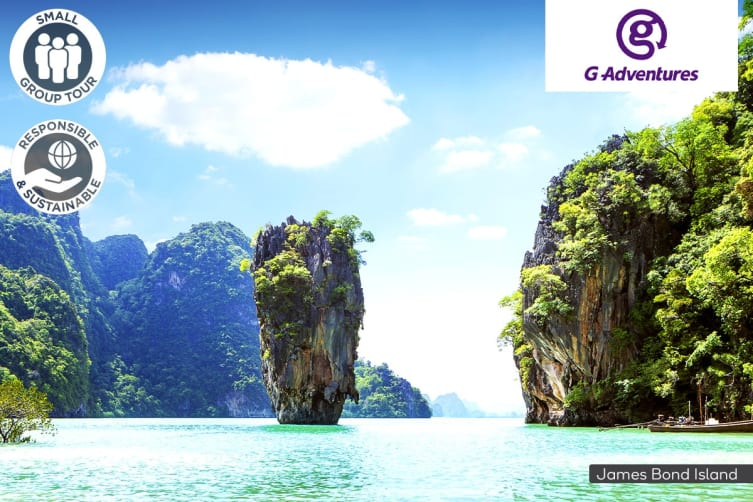 THAILAND: 7 Day Sail Thailand Small Group Package for One (Twin Share with Traveller of Same Sex)