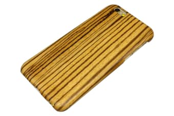 For iPhone 6S 6 Case Stylish Natural Durable Wooden Protective Cover Zebra