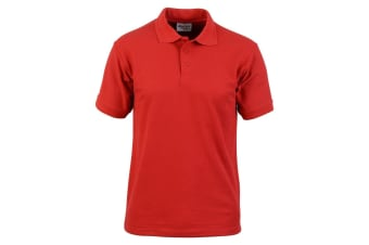 Absolute Apparel Mens Precision Polo (Red)