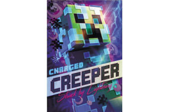 Minecraft Charged Creeper 162 Poster (Multicoloured)