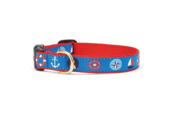 Up Country First Mate Collar (Blue/Red)