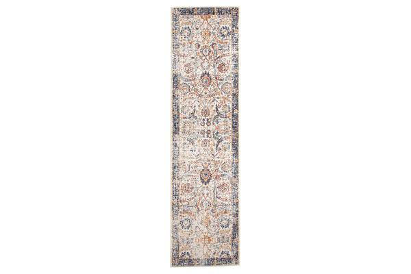 Peacock Ivory Transitional Rug 500x80cm