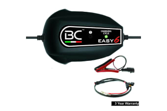Bc Easy 6 Amp Charger & Automatic Battery Maintainer Maintinance Multicycle New