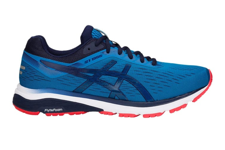 ASICS Men's GT-1000 7 Running Shoe (Race Blue/Peacoat, Size 11.5)