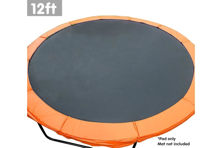 Powertrain Replacement Trampoline Spring Safety Pad - 12ft Orange
