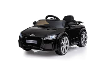 Kids Ride On Car LICENSED Audi TT RS Electric Battery Powered Motorised Black