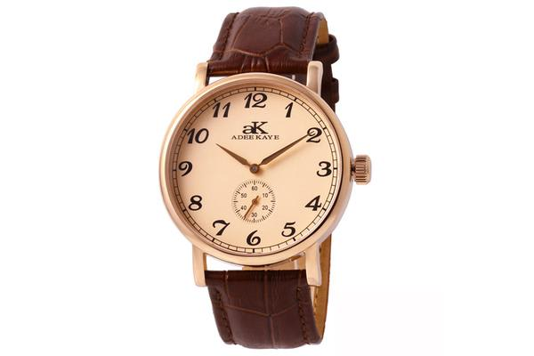 Adee Kaye  Men's Vintage Mechanical (AK9061-MRG-RG)
