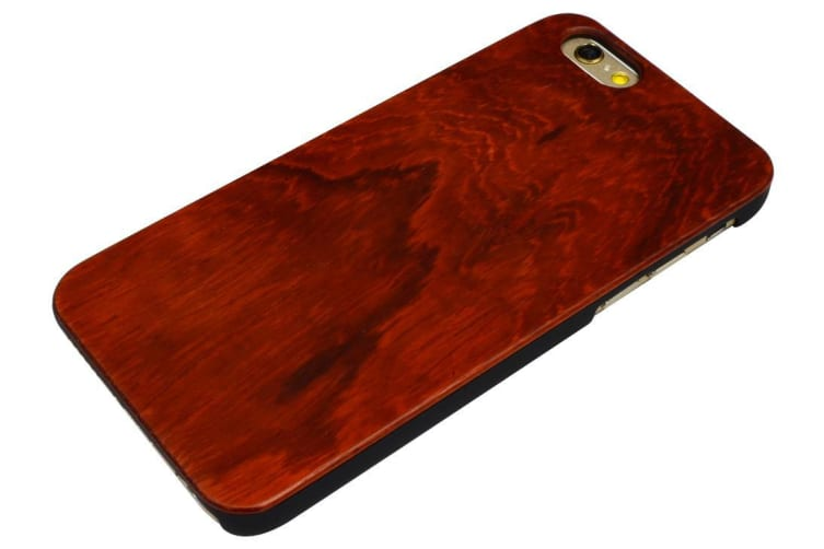For iPhone 6S 6 Case Elegant Rosewood High-Quality Protective Cover Smooth