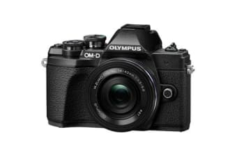New Olympus OM-D E-M10 MK III (14-42 EZ) Digital Cameras Black (FREE DELIVERY + 1 YEAR AU WARRANTY)