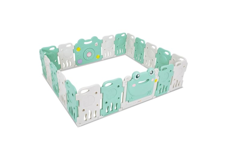 ABST 20PCS Kids Playpen Baby Enclosure Safety Panel