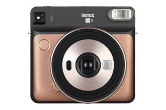 FujiFilm Instax Square SQ6 Instant Camera Blush Gold