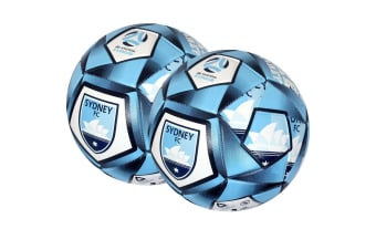 2x Summit Size 5 A-League Sydney Soccerball