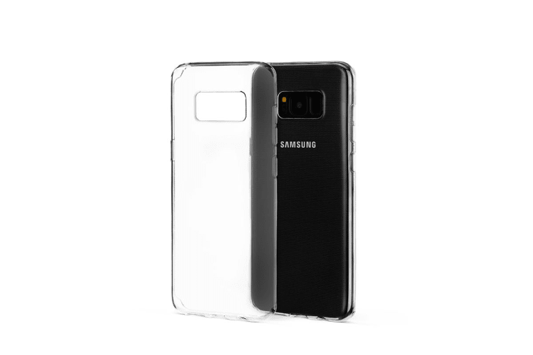 Samsung Galaxy S8 Slim Bumper Case (Clear)