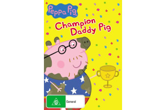 Peppa Pig Champion Daddy Pig and Other Stories DVD Region 4