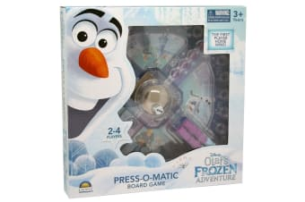 Disney Frozen Olaf's Adventure Press O Matic Board Game Kids/Children 3y+ Toys