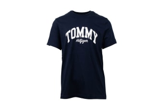 Tommy Hilfiger Men's Graphic Tee (Dark Navy)