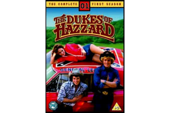 The Dukes of Hazzard Season 1 - Series Region 4 Rare- Aus Stock Preowned DVD: DISC LIKE NEW