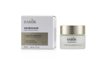 Babor Skinovage [Age Preventing] Purifying Cream Rich 5.2 - For Problem & Oily Skin 50ml