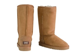 OZWEAR Connection Classic Long Ugg Boots (Chestnut)