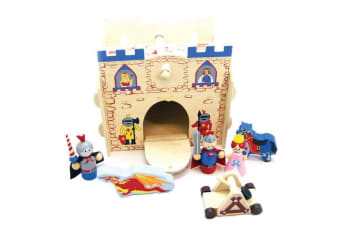 Kingdom Wooden Playset - Kaper Kidz