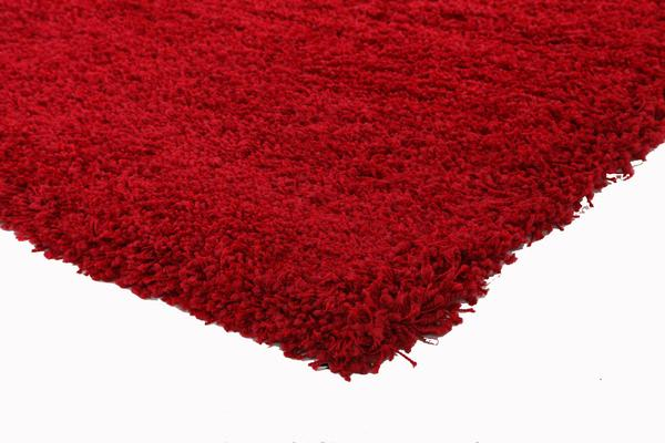Thick Soft Polar Shag Rug - Red 150x80cm