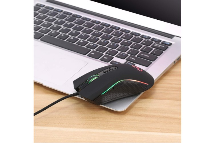A869 Gaming Mouse WiredErgonomics Design for Comfortable Touch, 3200 DPI Adjustable