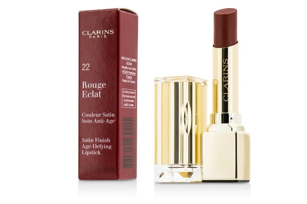 Clarins Rouge Eclat Satin Finish Age Defying Lipstick - # 22 Red Paprika (3g/0.1oz)