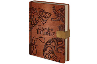 Game Of Thrones Premium Notebook (Brown) (A5)