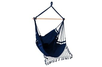 Hanging Hammock Chair (Navy)