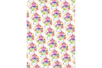 Simon Elvin Childrens Girls 24 Sheets Gift Wraps (White)