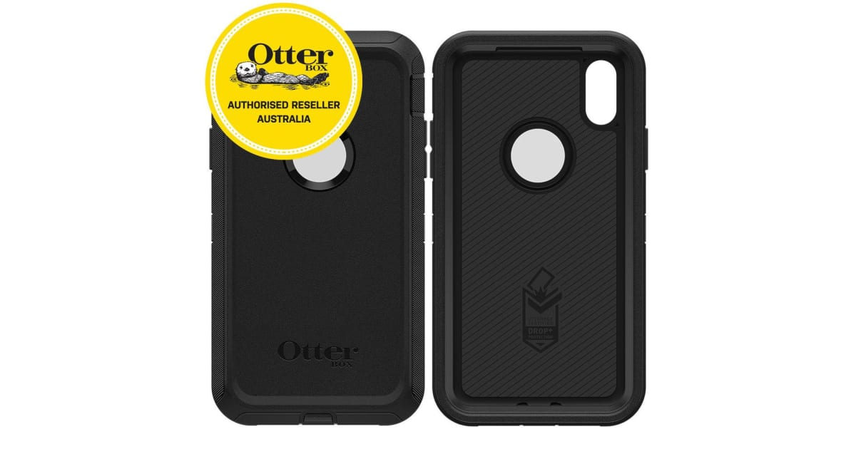 promo code ae1b1 44f3d OtterBox Defender Case for iPhone XR - Black | Handsets & Docks