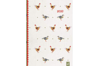 Country Life 2020 Premium Diary Planner A5 Padded Cover Christmas New Year Gift