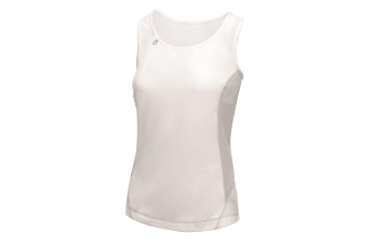 Regatta Activewear Womens/Ladies Rio Lightweight Sleeveless Vest (White/Light Steel)