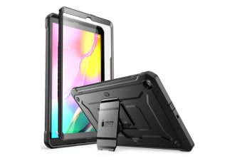 SUPCASE - Unicorn Beetle Pro Rugged  Case for Samsung Galaxy Tab A 10.1 (2019 Model)  - Black fit