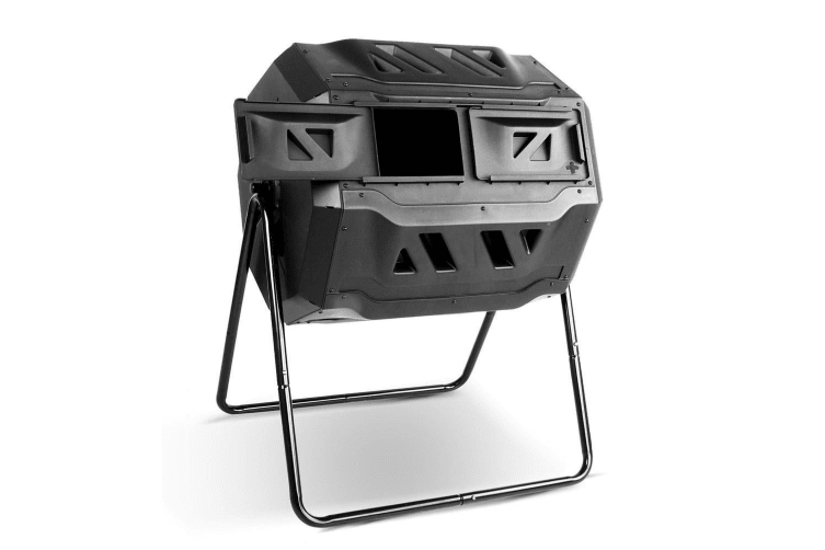 160L Compost Aerated Bin Recycling Food Waste Garden Composter