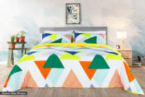 Ovela Kolmio Cotton Quilt Cover Set