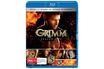Grimm Season 5 Blu-ray Region B