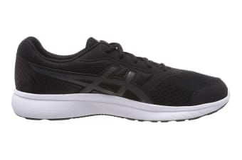 ASICS Men's Stormer 2 Running Shoe (Black/Carbon/White, Size 7.5)