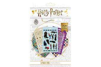 Harry Potter Sticker Set (800 Piece) (Multicoloured) (One Size)
