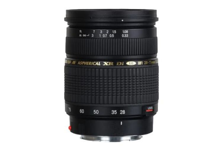 New Tamron AF 28-75mm F2.8 XR Di LD ASL IF Macro Lens Canon (FREE DELIVERY + 1 YEAR AU WARRANTY)